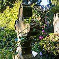 Le Jardin de l'abbé Marie face à Saint Germain de Livet