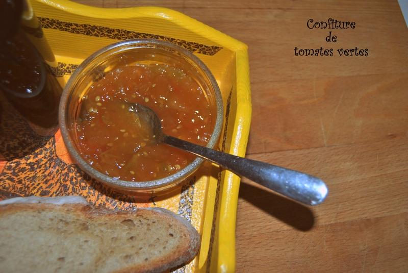 Confiture de tomates vertes 2