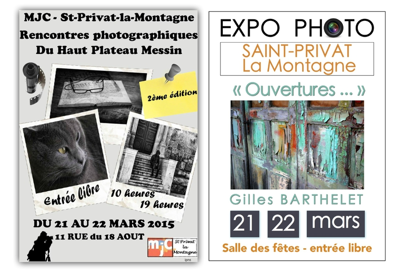 Affiche Saint Privat double