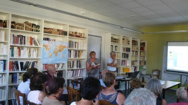 N conférence à Lompnieu, les auteurs russes et la Russie
