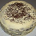 Mud cake façon triple layer