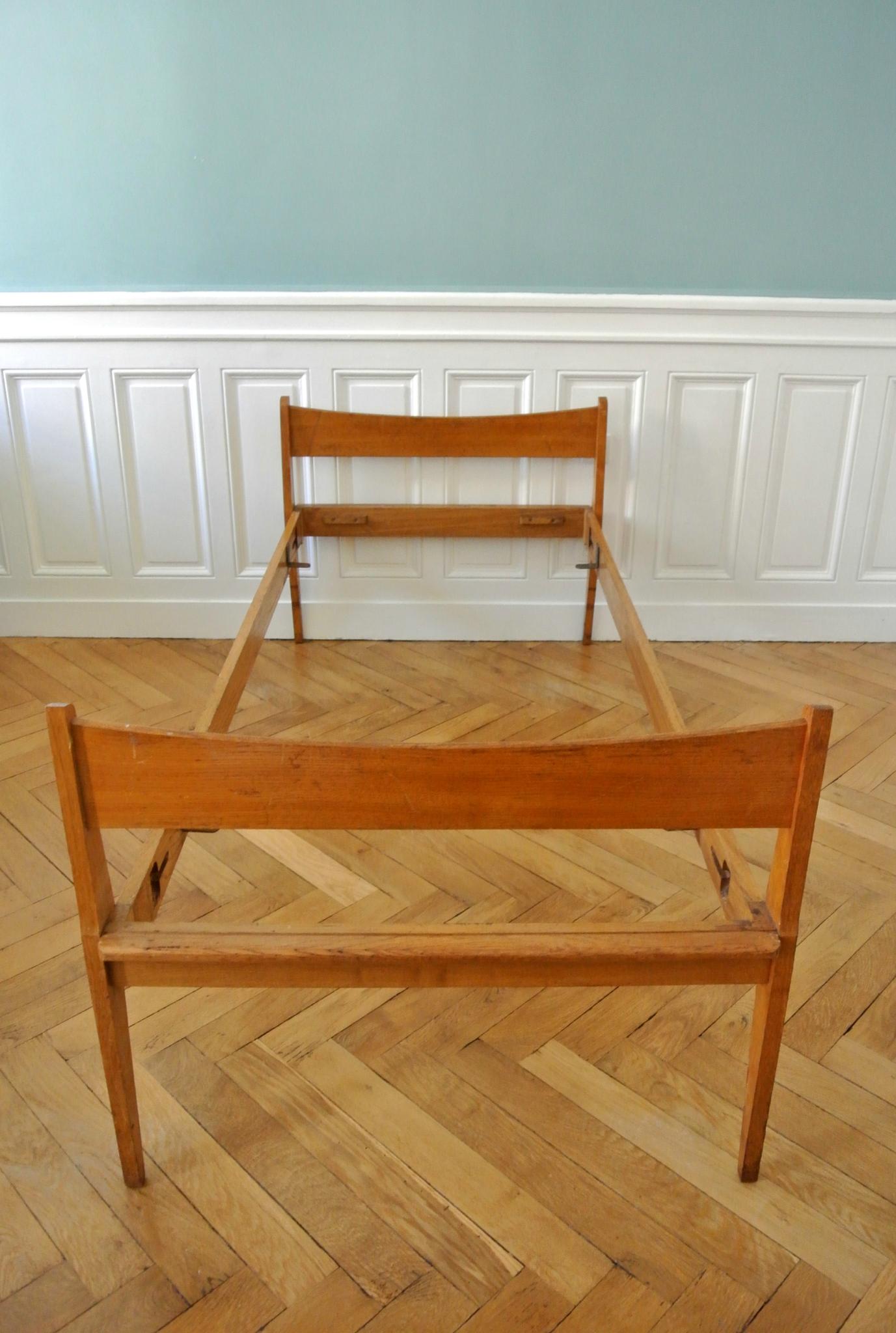 Lit de repos scandinave des ann es 50 solveig vintage galerie - Lit scandinave vintage ...
