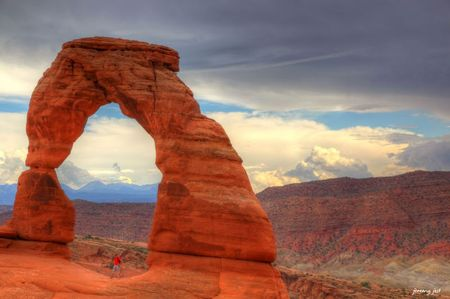 arches delicate arch hdr 4