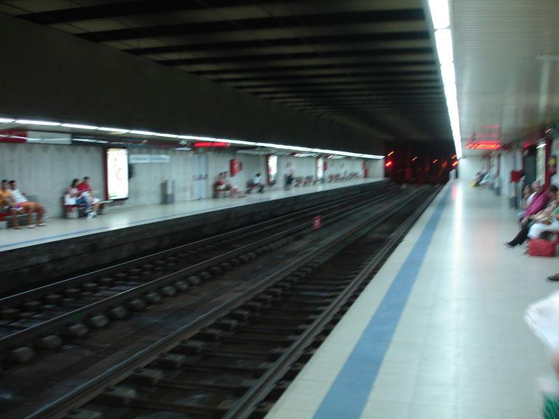 Gare Renfe de Malaga. Quais des lignes régionales Cercanias.