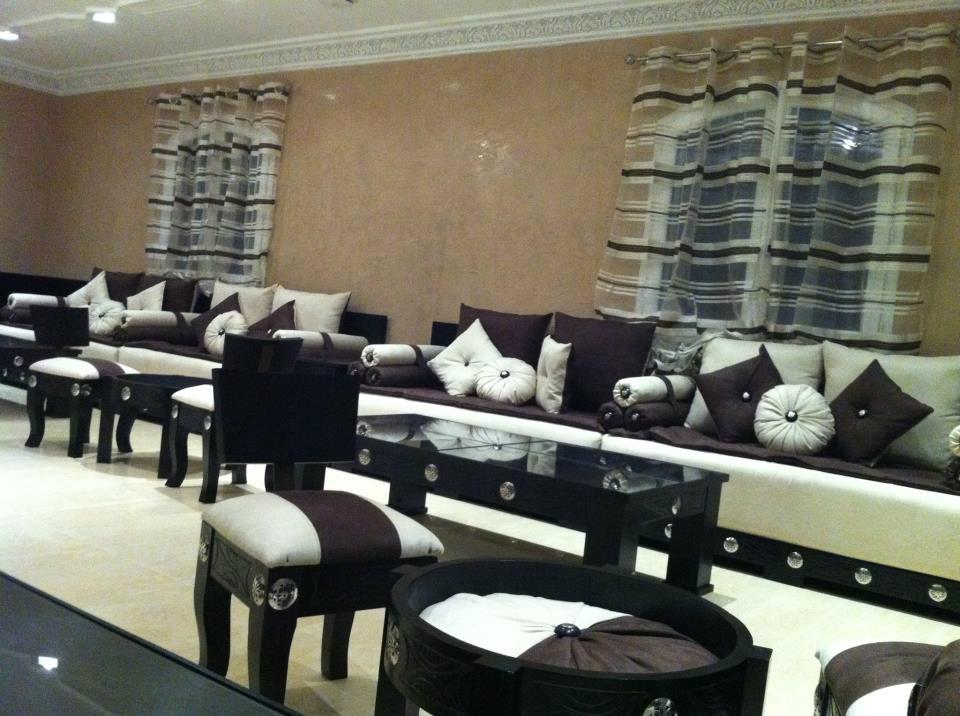 Decoration Salon Marocain Moderne. Fabulous Salon Marocain Blanc .