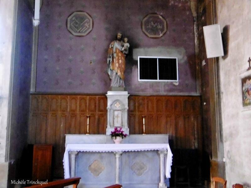 Etang et Eglise de Brocas 271117
