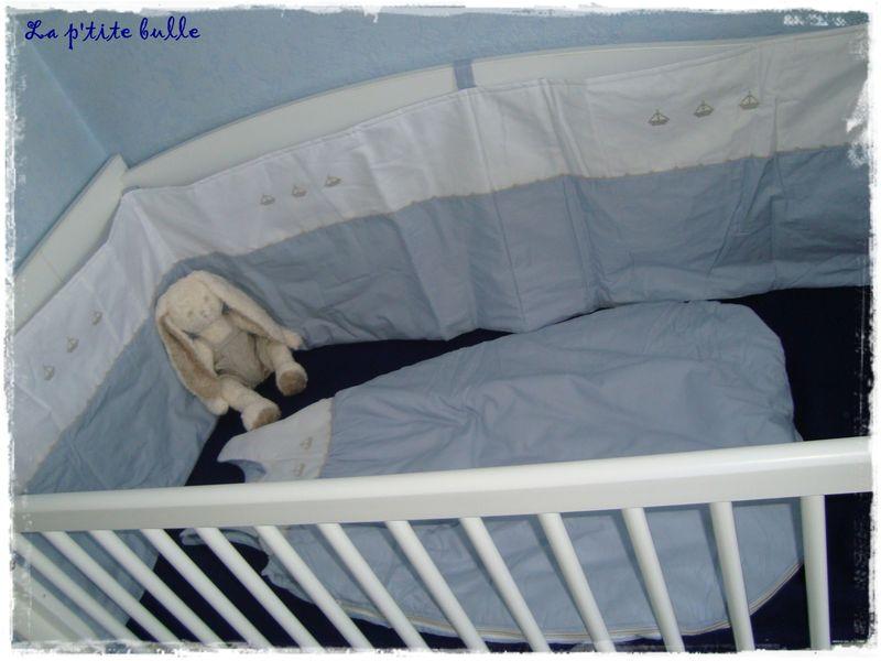lit b b barreau. Black Bedroom Furniture Sets. Home Design Ideas