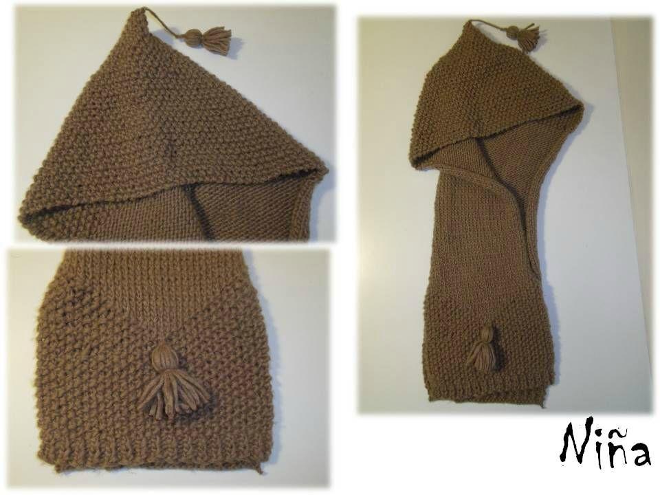 tricoter une capuche