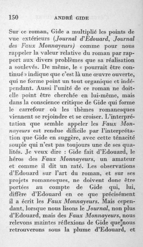 Ramon Fernandez Gide Faux-Monnayeurs (2)