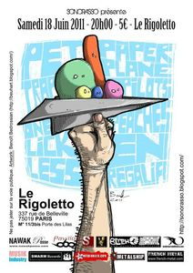 20110618 One Lick Less au Rigoletto