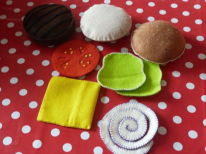 Felt_Hamburger