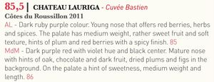 Tasted-Journal-Chateau-Lauriga-Cuvée-Bastein-2011