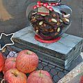 Les 13 desserts : les mendiants et les croquants aux amandes!
