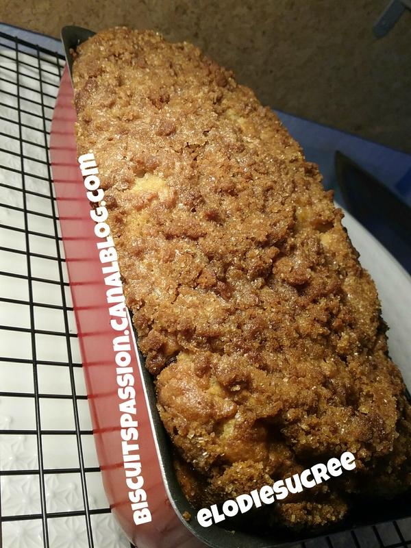 Cake croustillant aux poires râpées et aux spéculoos 105