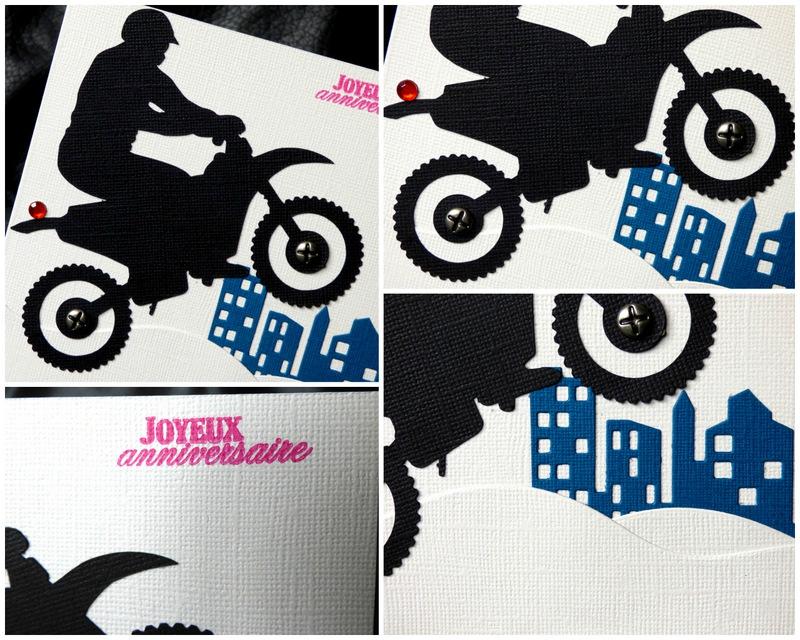 Carte D Anniversaire Masculine Avec Moto Cross Ideale Pour Les Ados L2mg La Boutique
