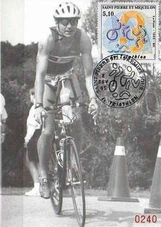 Triathlon CPM numéro St Pierre Miquelon 1995