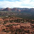 Sedona from the helico