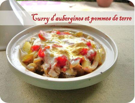curry auberginessrap