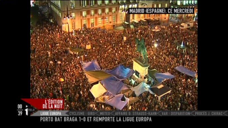 Manif Madrid I_TELE 2011-05-19