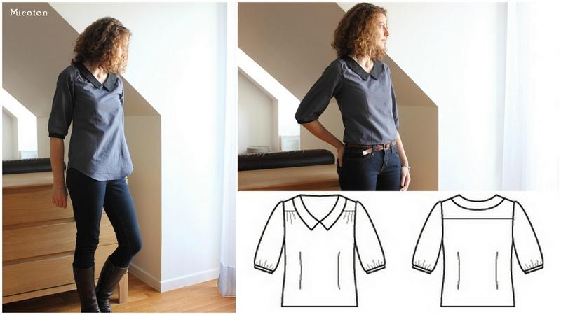 blouse airelle montage schéma