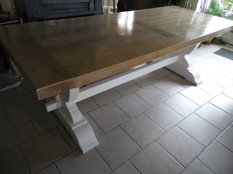 Bahut meuble salle manger la d co de g g for Table ancienne de ferme