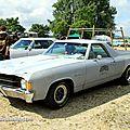 Chevrolet el camino de 1972 (Retro Meus Auto Madine 2012) 01