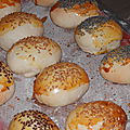 Petits pains navettes