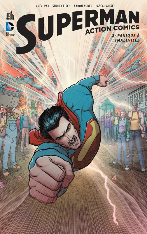 superman action comics 2 panique à smallville