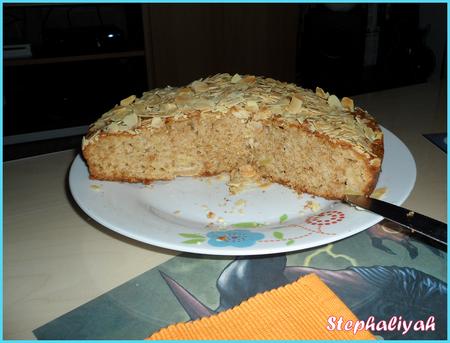 Gâteau moelleux aux pommes -- 5