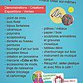 Salon loisirs creatifs maison du temps libre stella 22 et 23 octobre 2016