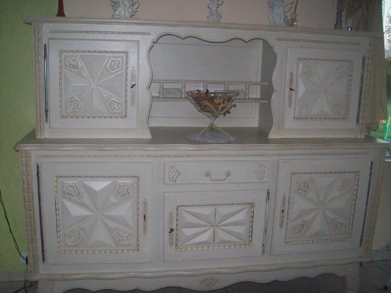 Commode st phanie et l onore d co for Meuble de salle a manger repeint