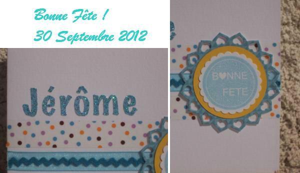 Fête Jé 2012 détails