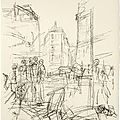 Exhibition at gagosian alberto giacometti's complete suite of lithographs paris sans fin