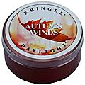 Autumn winds, kringle candle