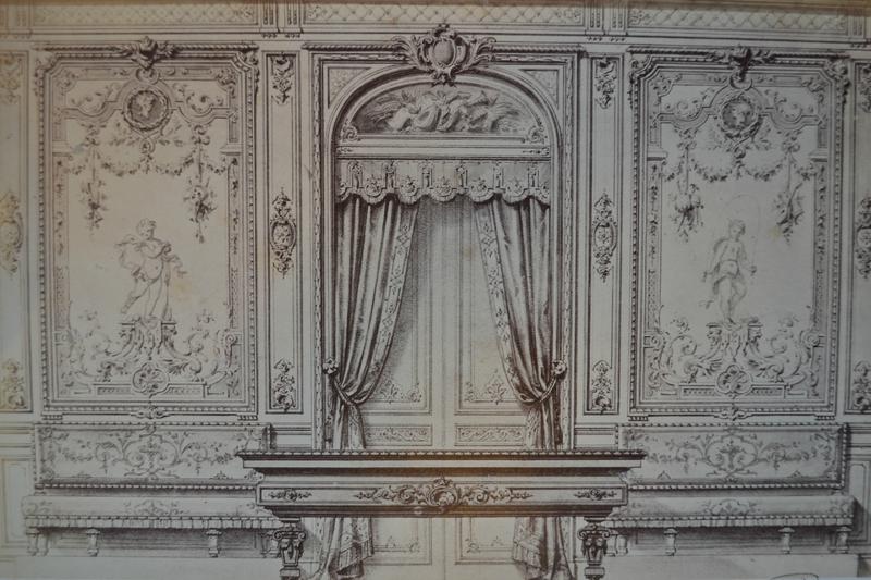 L'architecture, décoration , Ameublement, ArtisteAlexander Eugène Prignot PHOTOS DESSINER date1871