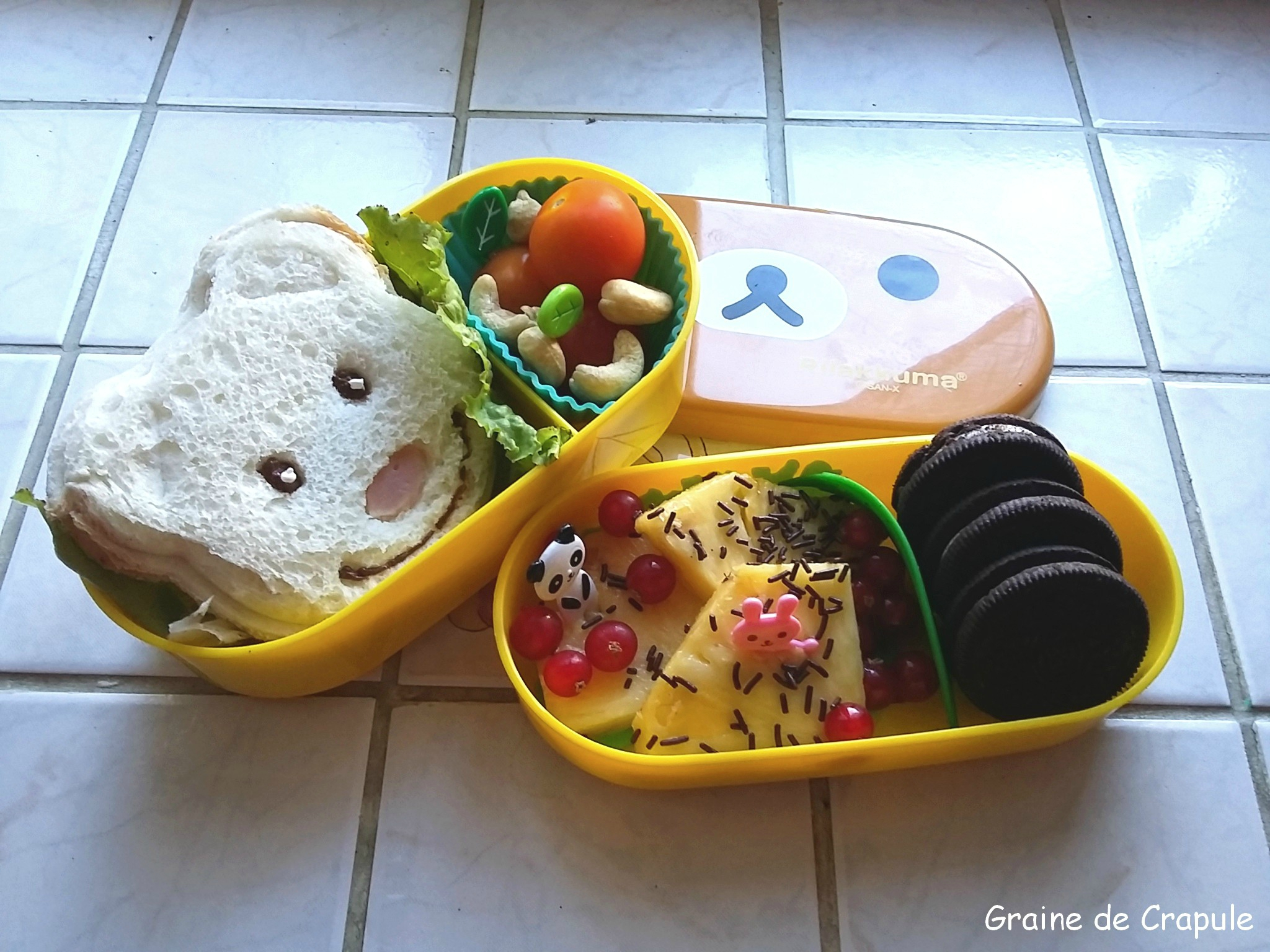 Les lunch Box de la Crapule