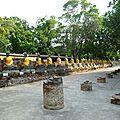 Les bouddhas d'Ayutthaya - Thaïlande