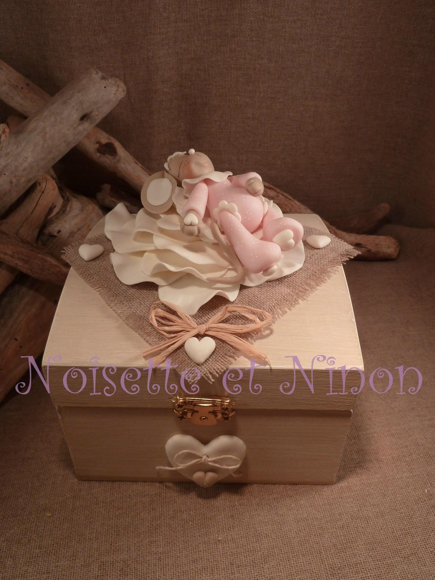 0721d2ecec91cb Deux boites à secrets dans le même esprit, dans des couleurs très douces!