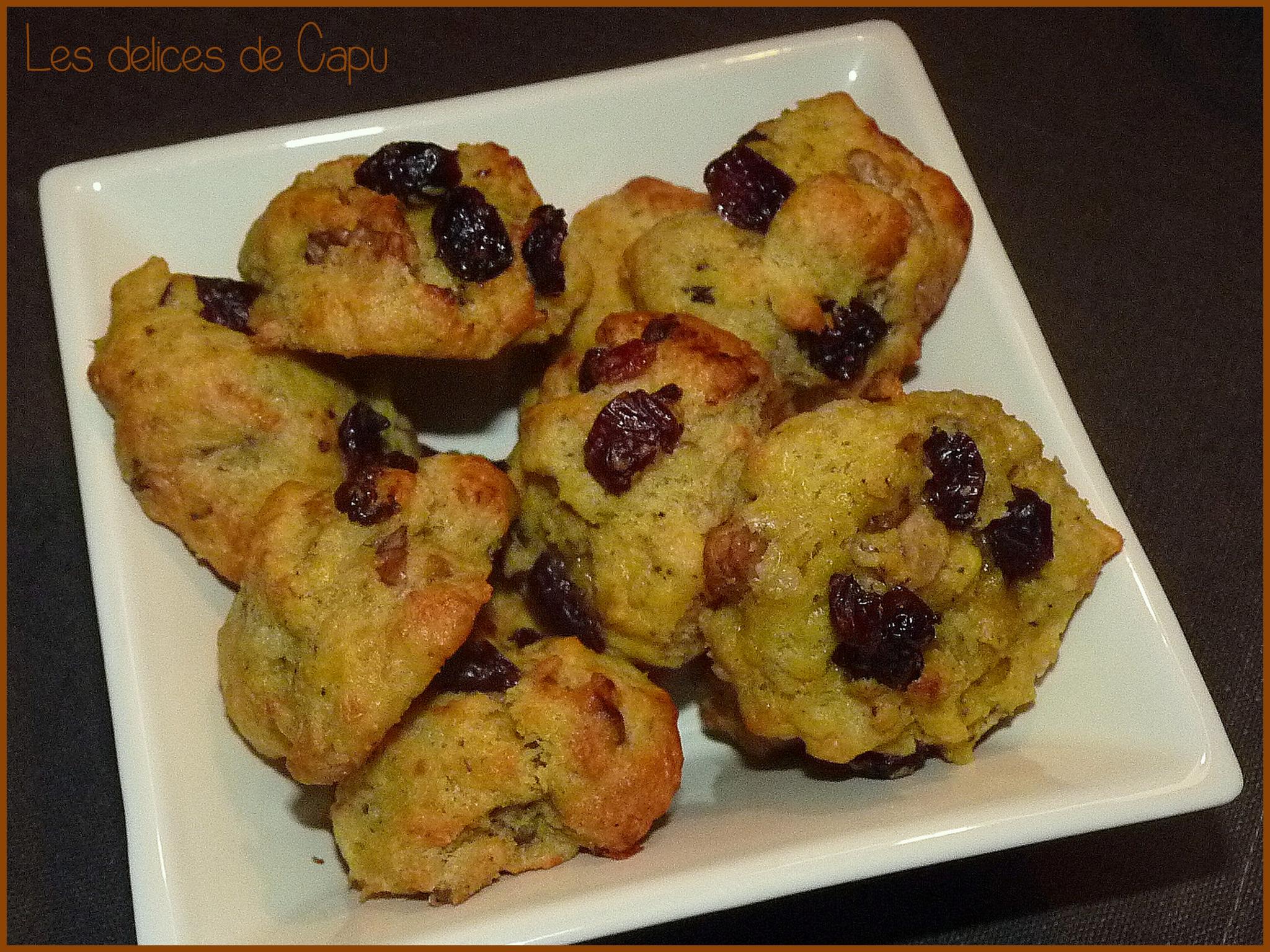 cookies roquefort noix et cranberries1