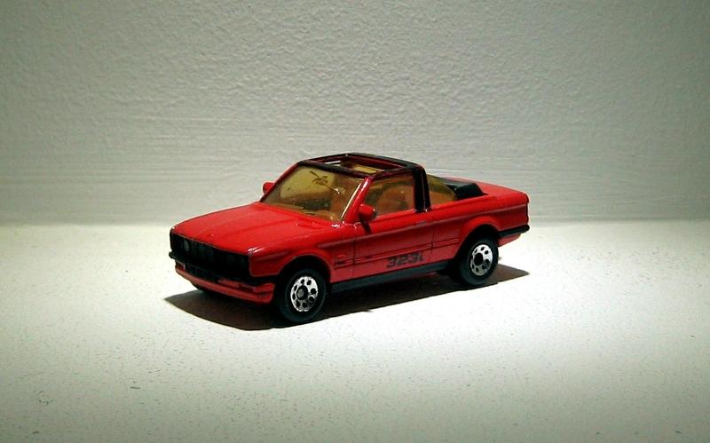 Bmw 323 I cabriolet (Matchbox)