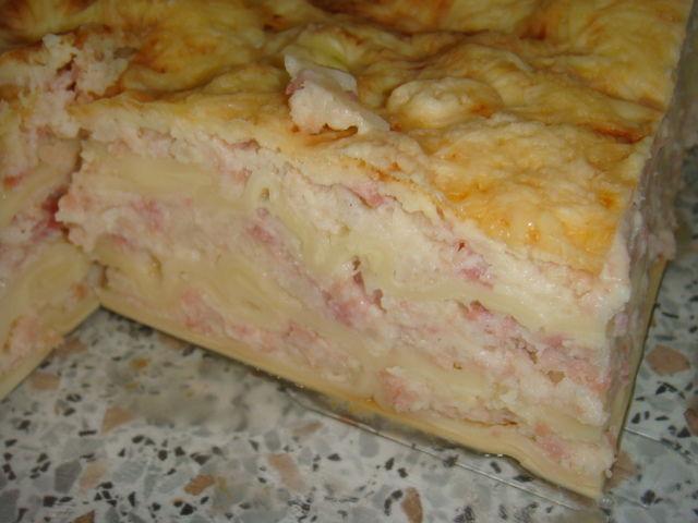 Lasagnes Au Jambon Et Choux Fleur La Cuisine A Sassenay