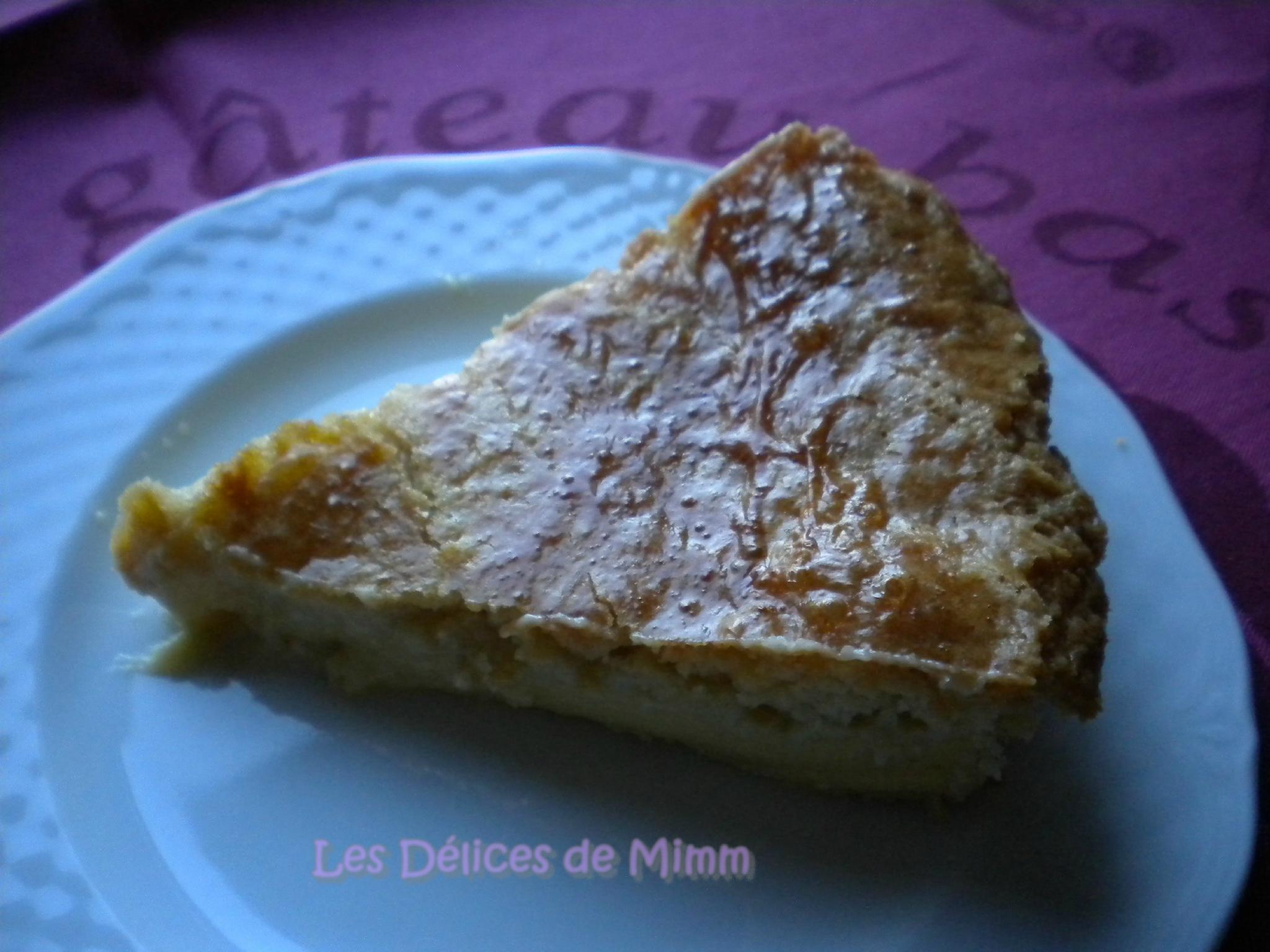 Le Gateau Basque Les Delices De Mimm