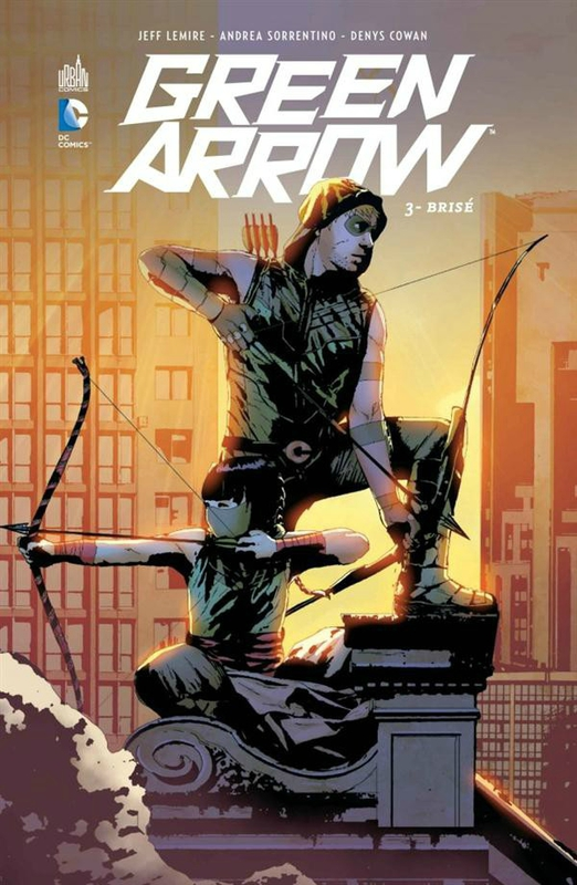 green arrow 3 brisé