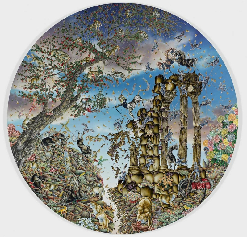 Raqib-Shaw-Arrival-of-the-Horse-King-Paradise-Lost-Series-2011-2012-high-res