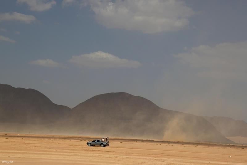 tempete de sable wadi rum
