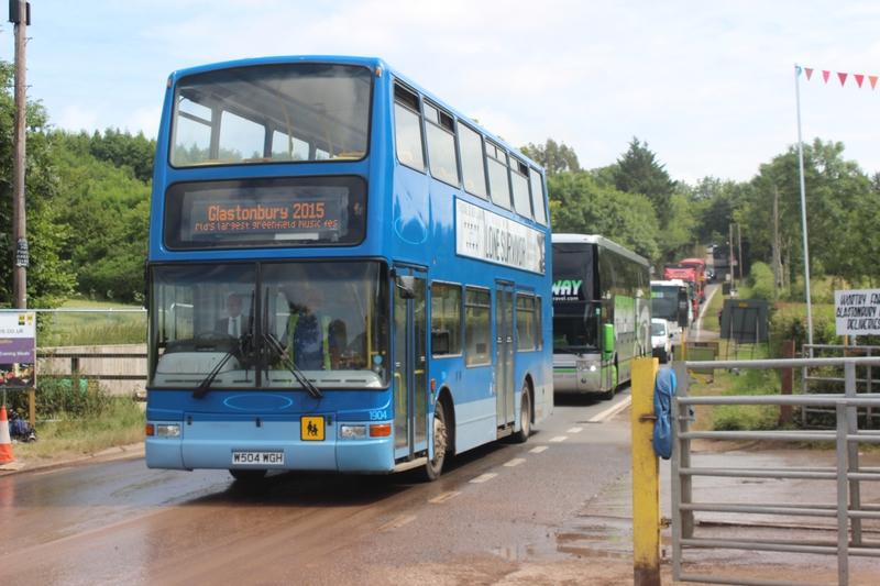 Glastonbury festival J+5 lundi 29 juin 2015 exit coach