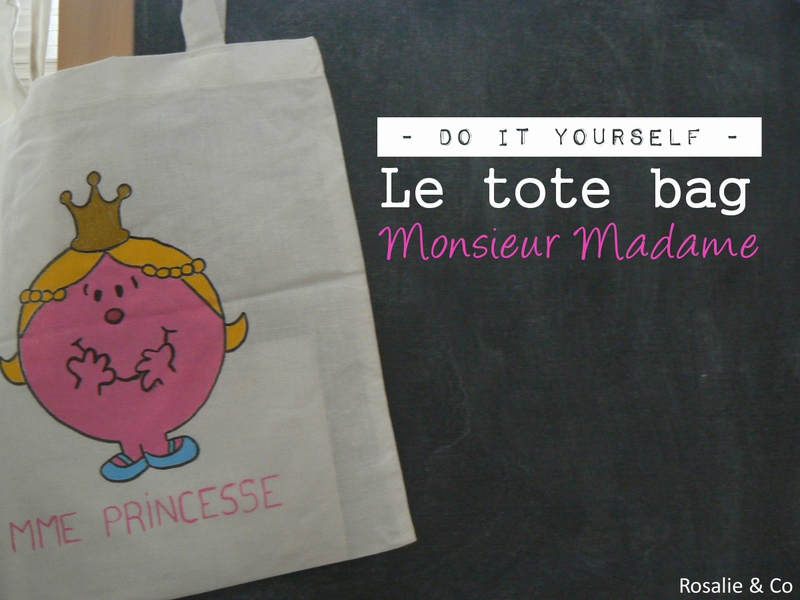 tote bag monsieur madame