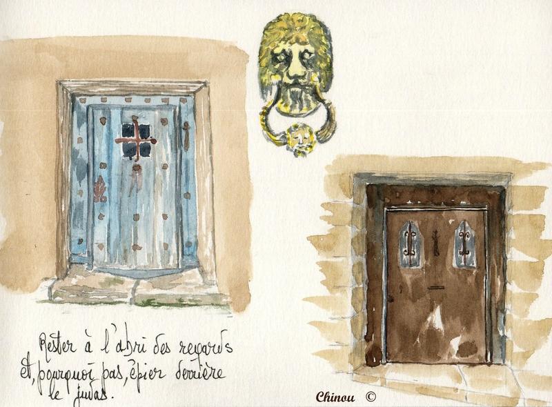 Portes et heurtoir