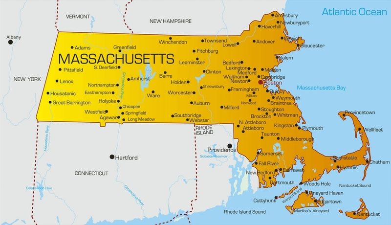 Massachusetts carte