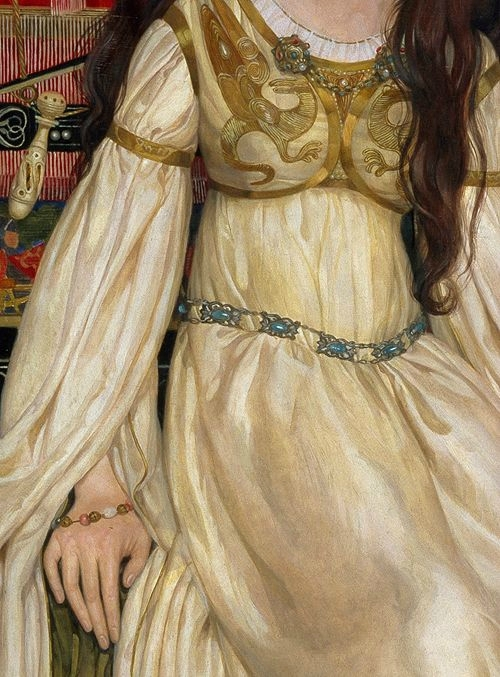 The Keepsake by Kate Elizabeth Bunce, 1898 (detail)